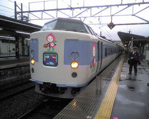八トタ183系「ホリデー快速河口湖」(2010年5月23日・大月駅)