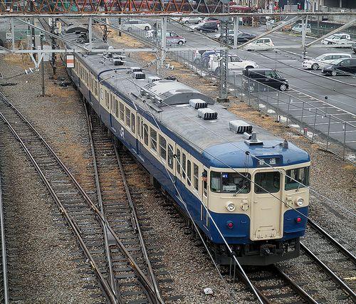 八トタ115系M1編成(2012年12月29日・大月駅)2