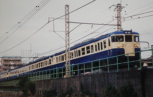 八トタ115系M6編成(2001年8月26日・豊田~八王子間)