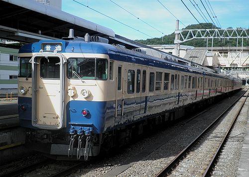 八トタ115系M7編成(2012年7月16日・高尾駅)