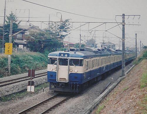 八トタ115系M5編成(2006年10月30日・相模湖~藤野間)