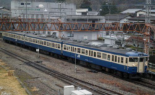 八トタ115系M4編成(2012年12月29日・大月駅)