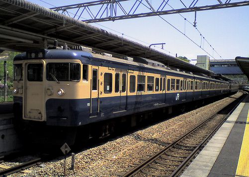 八トタ115系M9編成(2010年5月8日・相模湖駅)