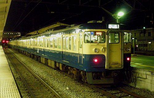 八トタ115系M8編成(2011年7月27日・高尾駅)