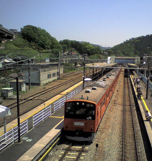 八トタ201系H4編成(2010年5月8日・相模湖駅)
