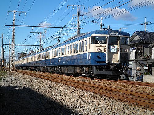 八トタ115系M40編成(2012年11月10日・青梅線羽村~小作間)