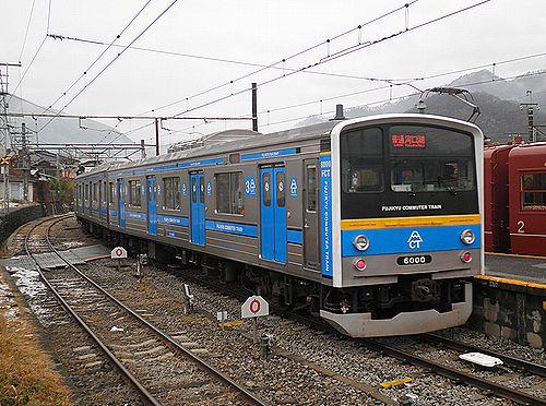 富士急行6000系(2012年12月29日・大月駅)
