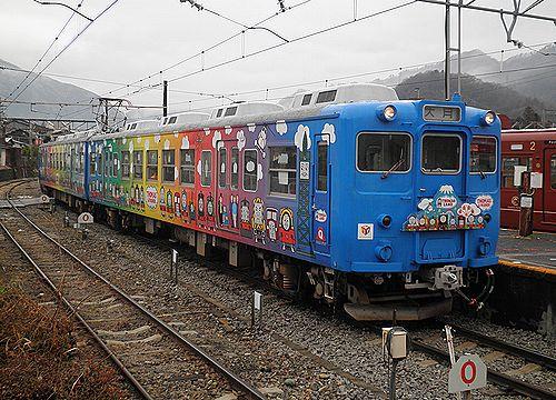 富士急行5000形(2012年12月29日・大月駅)