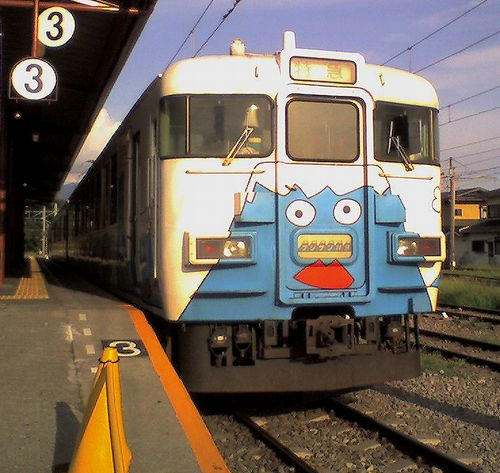 富士急行2000形・クモロ2201(2010年8月29日・河口湖駅)