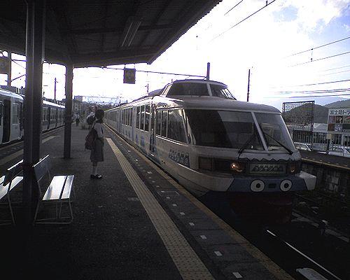 富士急行2000形・クロ2001(2010年8月29日・富士吉田駅)