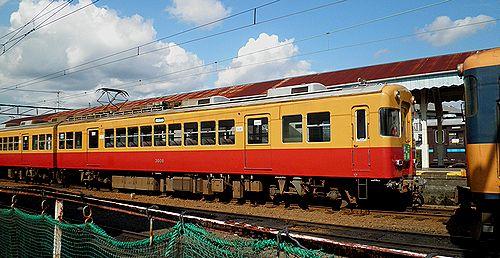大井川鐵道モハ3000系(2012年10月7日・新金谷駅)2