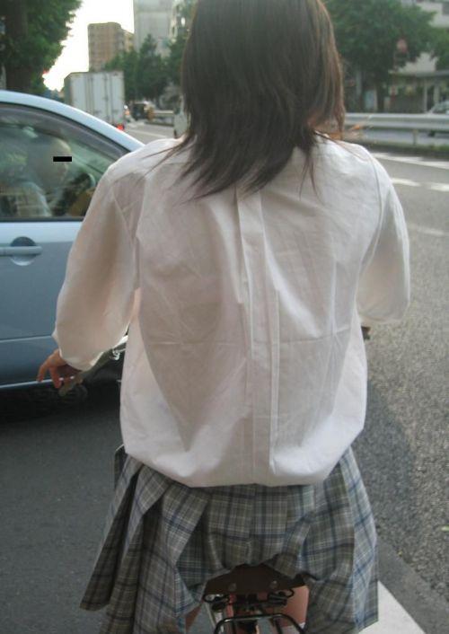【三次画像あり】 ミニスカの女子高生が自転車に乗ってるとドキっとするよね! 53枚 part.13 No.12