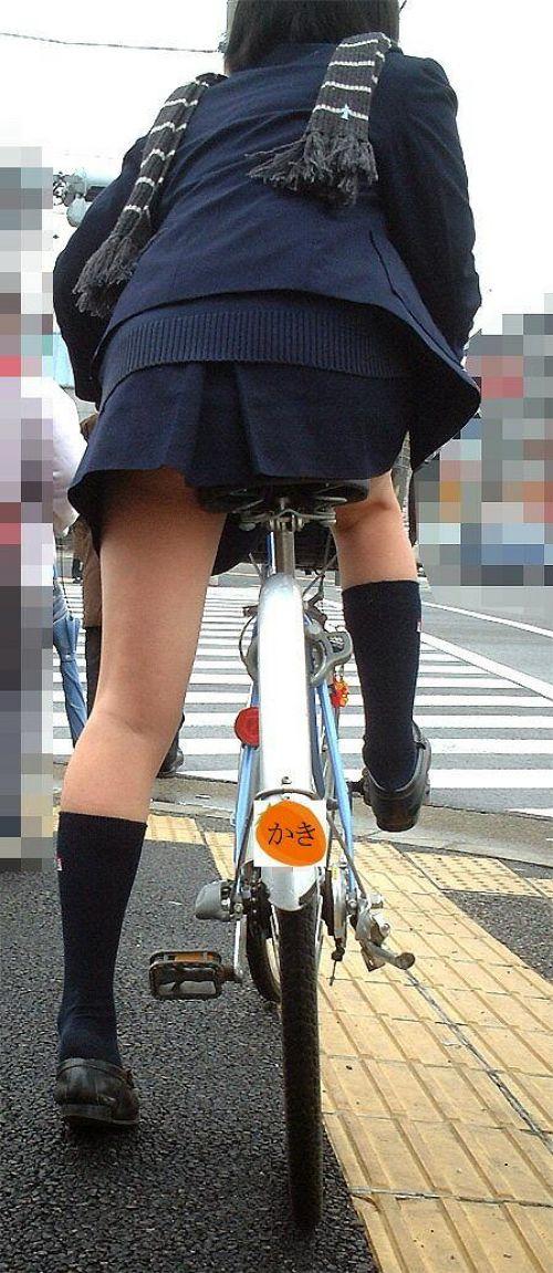 【三次画像あり】 ミニスカの女子高生が自転車に乗ってるとドキっとするよね! 53枚 part.13 No.26