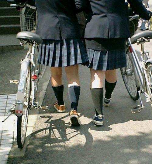 【三次画像あり】 ミニスカの女子高生が自転車に乗ってるとドキっとするよね! 53枚 part.13 No.35