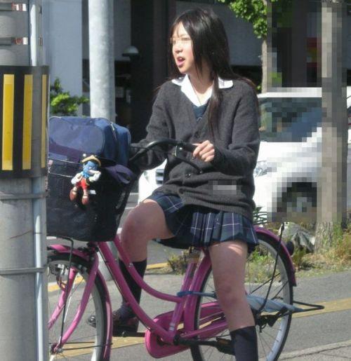 【三次画像あり】 JKがミニスカで自転車に乗ってる姿を後ろから眺めるの幸せすぎ♪ 52枚 part.12 No.8