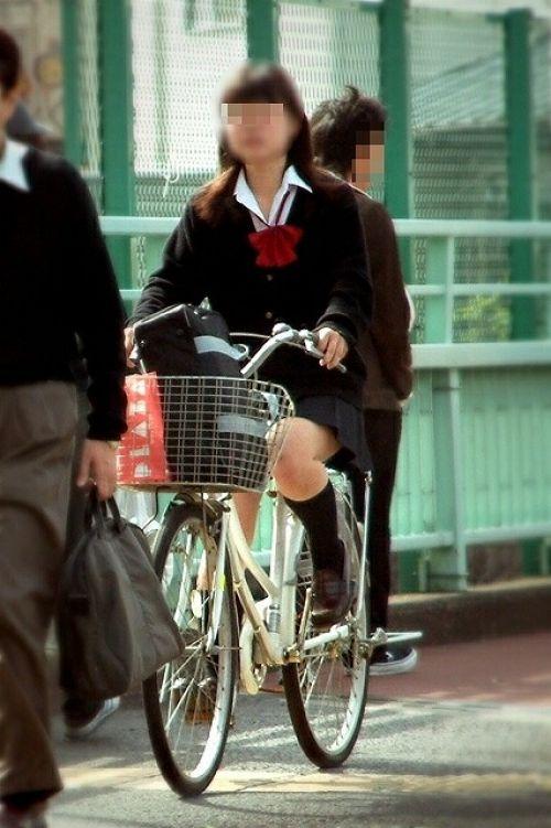 【三次画像あり】 JKがミニスカで自転車に乗ってる姿を後ろから眺めるの幸せすぎ♪ 52枚 part.12 No.16