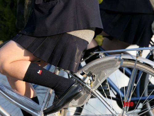 【三次画像あり】 JKがミニスカで自転車に乗ってる姿を後ろから眺めるの幸せすぎ♪ 52枚 part.12 No.22
