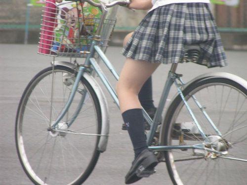 【三次画像あり】 JKがミニスカで自転車に乗ってる姿を後ろから眺めるの幸せすぎ♪ 52枚 part.12 No.32