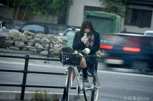 【三次画像あり】 JKがミニスカで自転車に乗ってる姿を後ろから眺めるの幸せすぎ♪ 52枚 part.12 No.39