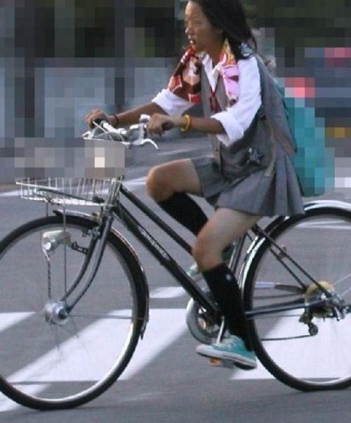 【三次画像あり】 JKがミニスカで自転車に乗ってる姿を後ろから眺めるの幸せすぎ♪ 52枚 part.12 No.51