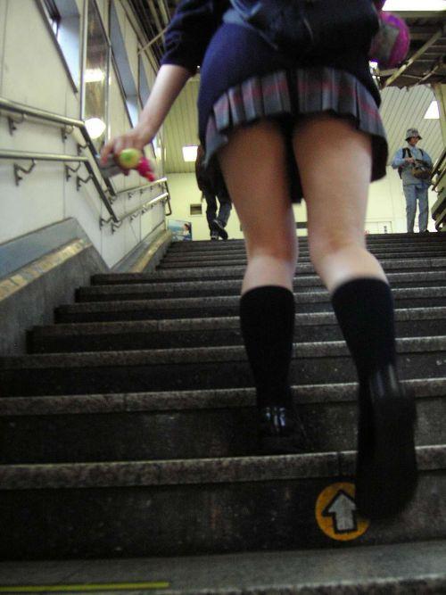 【三次】 下からJKのスカートの中のパンチラ画像ってエロイよね! 28枚 part.8 No.3
