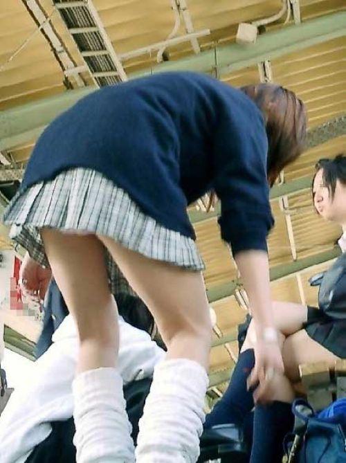 【三次】 下からJKのスカートの中のパンチラ画像ってエロイよね! 28枚 part.8 No.10