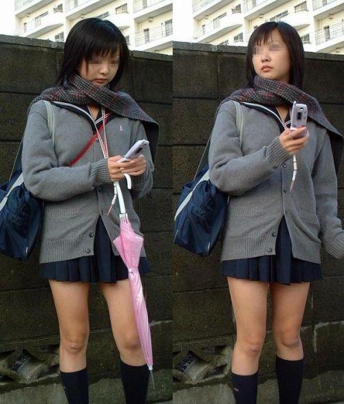 ミニスカートのJKの太ももを街撮り盗撮したエロ画像でウォームングアップしようぜ! 29枚 part.20 No.7