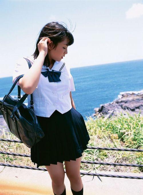 【画像あり】 セーラー服姿がかわいいJKを見ていたらおっきしちゃうよね! 22枚 part.9 No.1