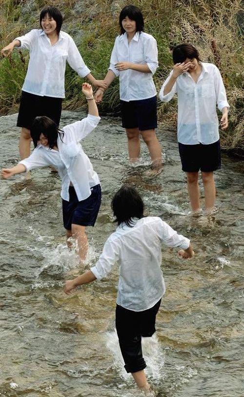 【三次】 濡れて透けブラしちゃってるJK画像が集まるスレ! 52枚 part.7 No.52