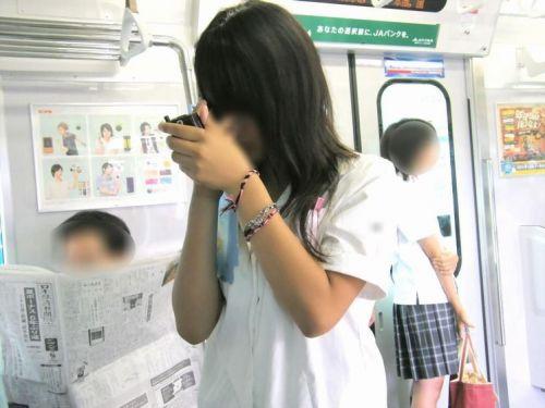 【三次】 電車通学JKの無防備な登校中画像いっぱい見ちゃう? 53枚 part.10 No.26