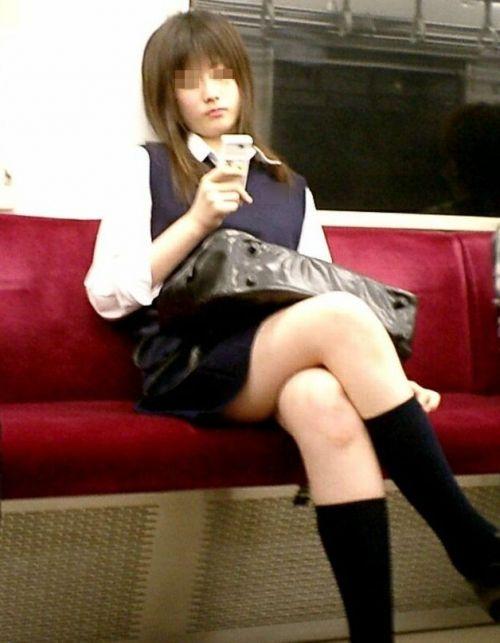 【三次】 電車通学JKの無防備な登校中画像いっぱい見ちゃう? 53枚 part.10 No.38