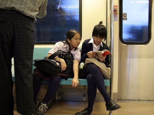 【三次】 電車通学JKの無防備な登校中画像いっぱい見ちゃう? 53枚 part.10 No.41