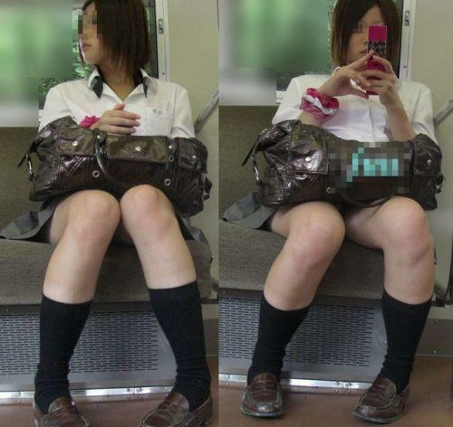 【三次】 電車通学JKの無防備な登校中画像いっぱい見ちゃう? 53枚 part.10 No.42