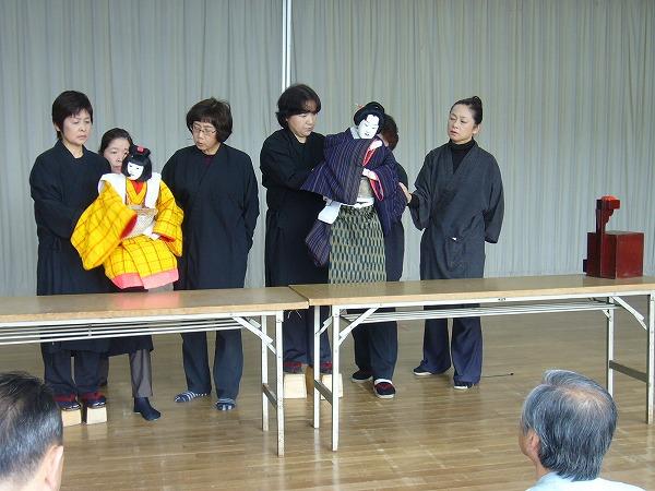 人形阿波鳴練習