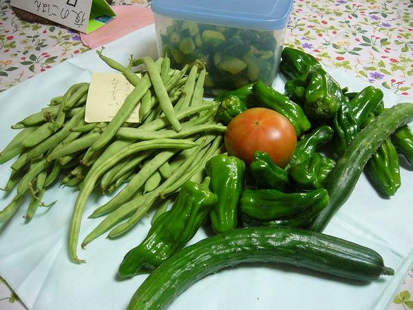 野菜ときゅうりの漬け物