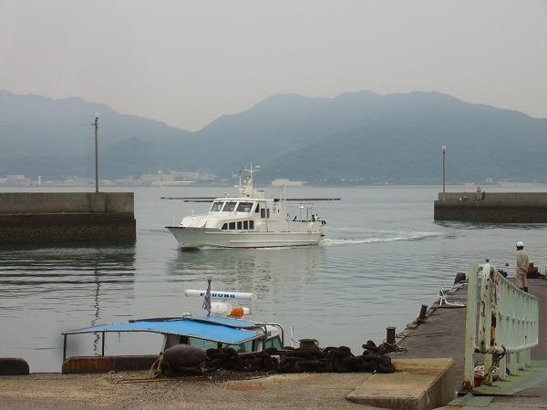 粟島定期船