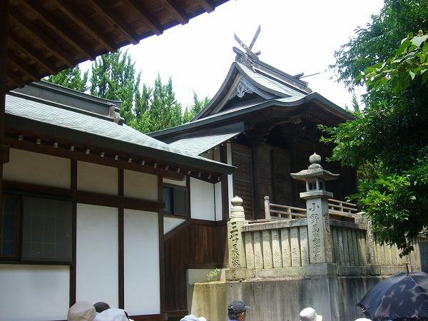 新田神社横