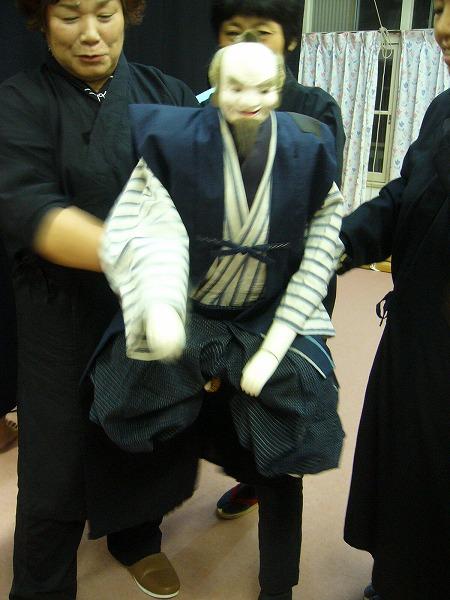 浦島人形撮影2
