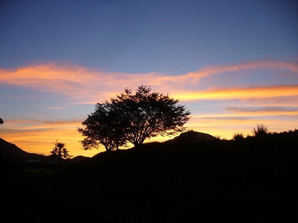 日の出前4