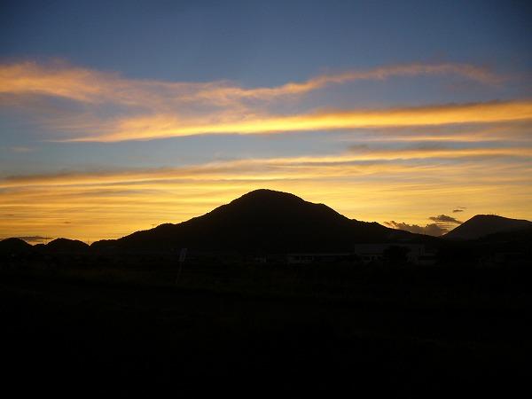 日の出前5