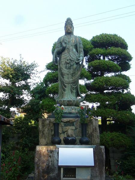 妙音寺 長崎平和像と同一人作製
