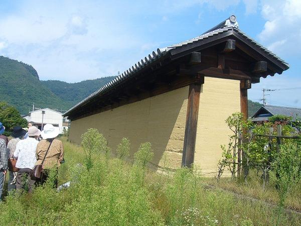 国分寺の塀再現