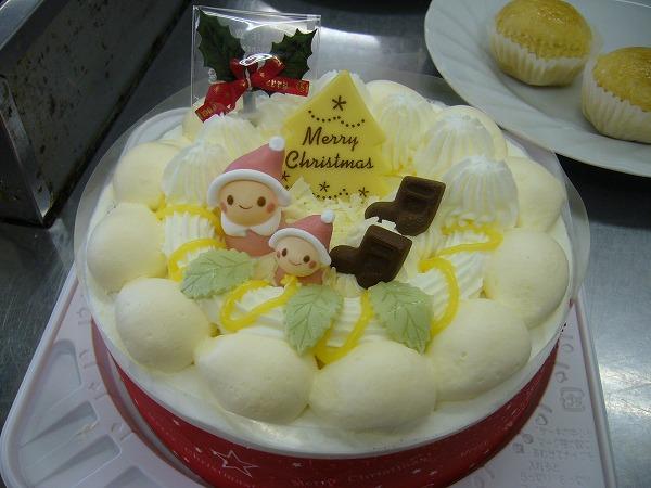 今年のケーキの試食