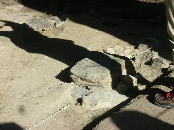 発掘の様子2