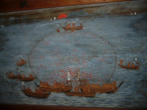 絵馬 鯛網