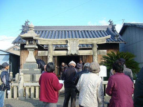 南恵比寿神社からスタート