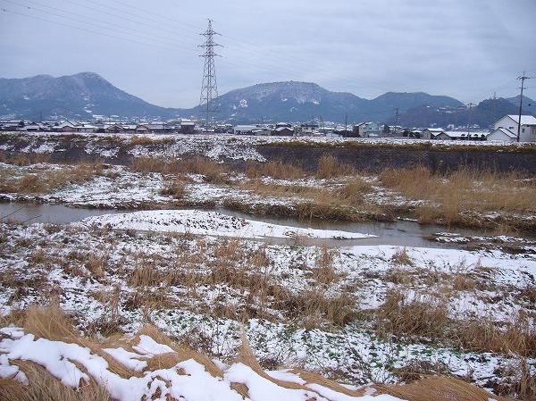 雪の高瀬川 26.2.14
