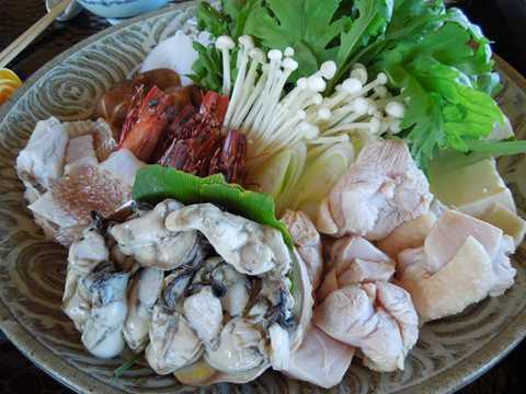 唐津薬膳鍋 材料