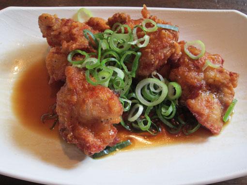 鶏の唐揚げぽん酢