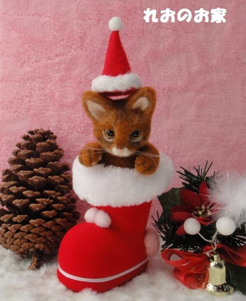 赤い靴猫1